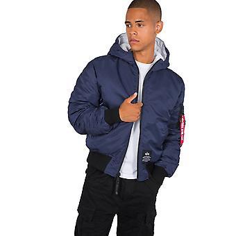 Alpha Industries Men's Winter Jacket Hooded Buffer FD Rev.