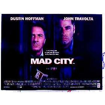 Mad City (Double Sided) Original Cinema Poster