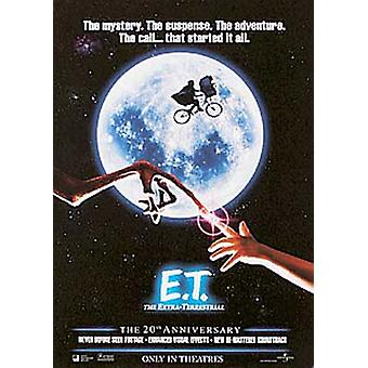 E.T. (20Th Anniversary Single-Sided Reprint) Réimpression Poster