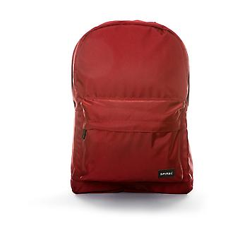 Spiral Active Backpack in Burgundy