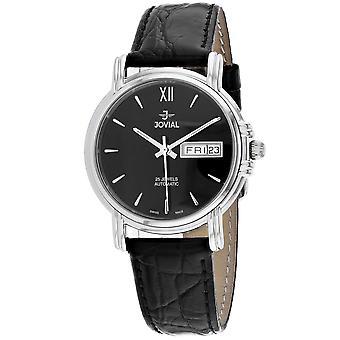 Jovial Women's Classic Black Dial Watch - 11003-GSLA-04