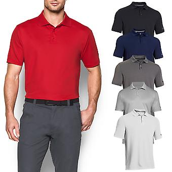 Under Armour Mens Medaglia Gioca Golf Polo Giocatore Camicia