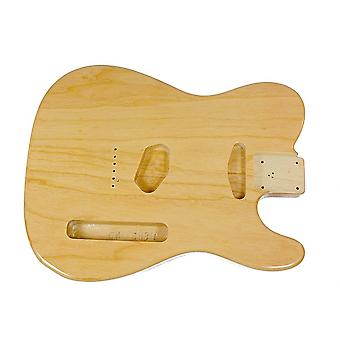 WD Music Tele Body Swamp Ash Clear