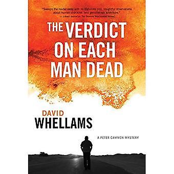 Het oordeel over elke man dood: een Peter Cammon mysterie