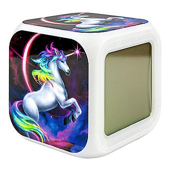 Digital Alarm Clock - Unicorn / Unicorn No.4