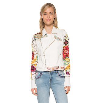 Desigual Women's Embroidered Claudia Denim Jacket