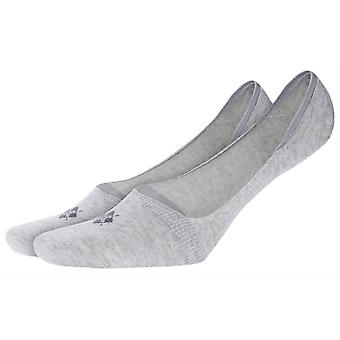 Burlington everyday 2-Pack no show chaussettes-gris clair