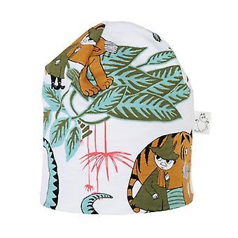 Moomin jungle cap blanc/turquoise 42/44