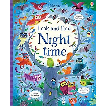 Look and Find Night Time by Kirsteen Robson