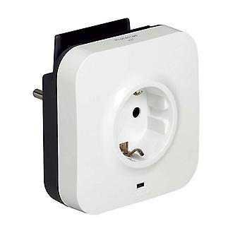 veggplugg med 2 USB-porter Legrand 218985 USB 5V x 2 hvit