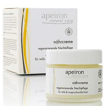 Apeiron Nourishing Night Cream Regenerating 50 ml