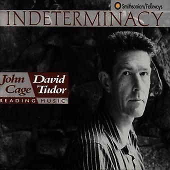 J. Cage - Indeterminacy: Nytt aspekt av skjema i Instrumental og elektronisk musikk [DVD] USA import