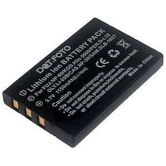 Dot.Foto Samsung SLB-1037, SLB-1137 ersättningsbatteri - 3.7V / 1150mAh