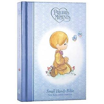NKJV Precious Moments Holy Bible Hardcover Blauw door Thomas Nelson