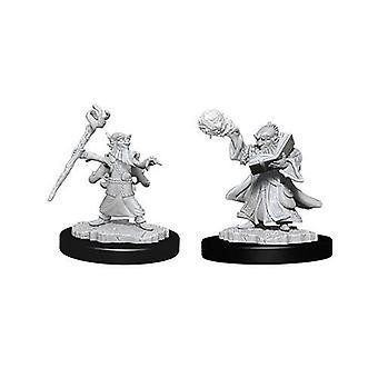 D&D Nolzur's Marvelous Unpainted Miniatures Male Gnome Wizard (Pack of 6)