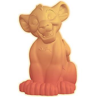 Disney Lejonkungen Simba färgförändring nattlampa