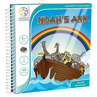 SmartGames Noah-apos;s Ark Magnetic Puzzle Travel Game Un joueur a 5 ans