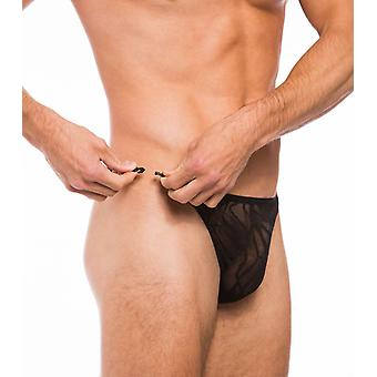Fizzy clip side tanga black