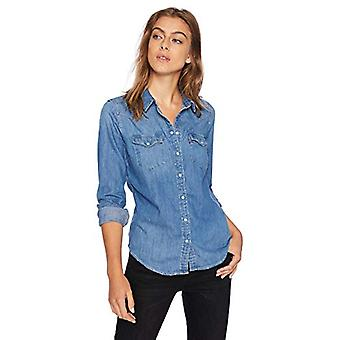 Levi's Women's Ultimate Western Shirt, Love Blue,, Love Blue, Size X-Large