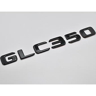 Gloss Black GLC350 Flat Mercedes Benz Car Model Numbers Letters Badge Emblem For GLC Class X253/C253 AMG