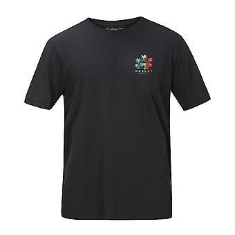 Hurley Men's T-Shirt ~ BNZ Get Shacked black