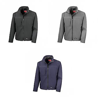 Result Mens Classic Softshell Breathable Jacket