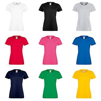 Fruit Of The Loom Womens Lady-Fit Sofspun Short Sleeve T-Shirt