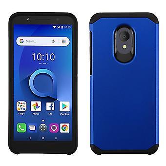 ASMYNA Astronoot Phone Case for Alcatel 5059R/1X Evolve/Avalon V - Black/Black