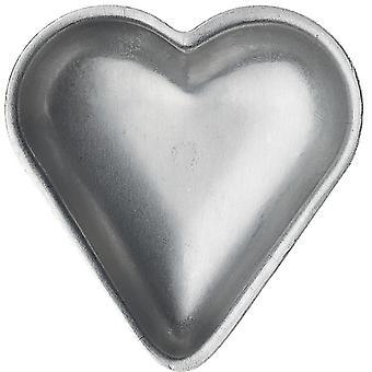 Gastromax Kakform hjerte 6 stk 8 cm