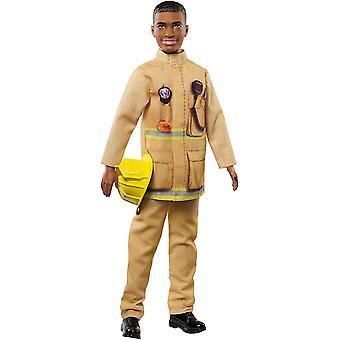 Barbie Brandweerman Ken Doll Brandweerman Doll