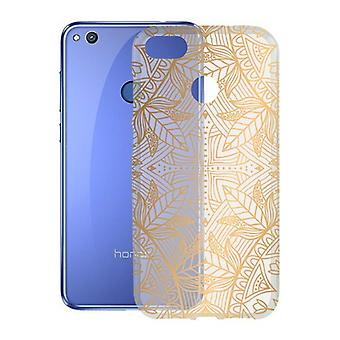 Mobile phone protection Honor 8 Lite KSIX Flex India TPU Transparent Golden