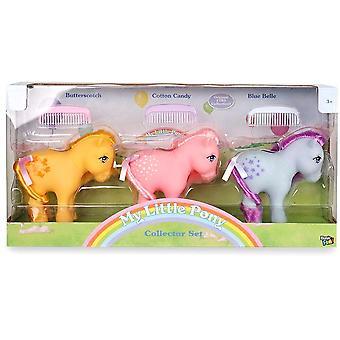Klassinen 3-Pack My Little Pony Retro Collector Set Figurines
