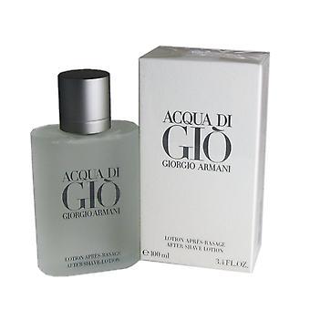Acqua di gio for men by giorgio armani 3.3 oz after shave splash