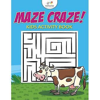 Maze Craze Kids Maze Activity Book by Kreative Kids