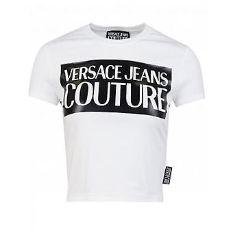 Versace Jeans Couture Cropped Logo T-Shirt