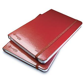 Notitieboekjes voor de Livescribe smartpen zonder lijnen 3-4 Rood