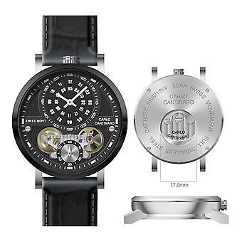 Carlo Cantinaro CC1004GL007 Men's Watch Quartzmatic GMT