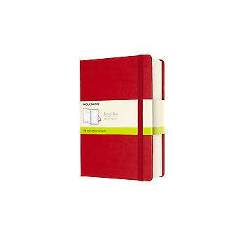Moleskine story box large scarlet red