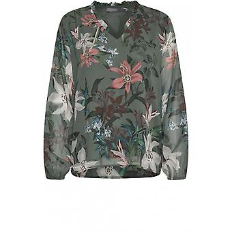 b.young Floral Print Blouse