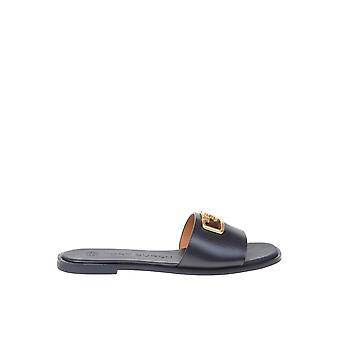 Tory Burch 63527006 Mulheres'sandálias de couro preto