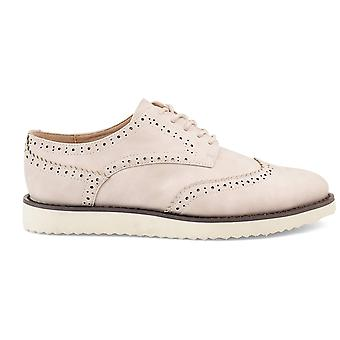 Brinley co comfort Womens Wingtip Lace-up loafer