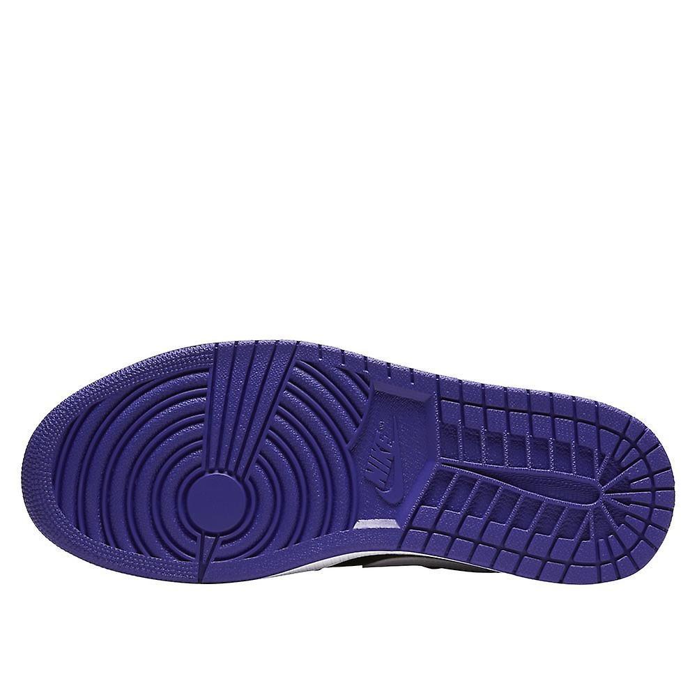 Nike Air Jordan 1 Low Court Purple Black 553558501 uniwersalne buty męskie przez cały rok
