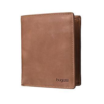 Bugatti Volo mens lommebok lommebok vesken Cognac 3576