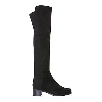 Stuart Weitzman Reservesrgblk Women's Black Leather Boots