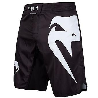 Venum Light 3.0 Fight Shorts Schwarz/Weiß