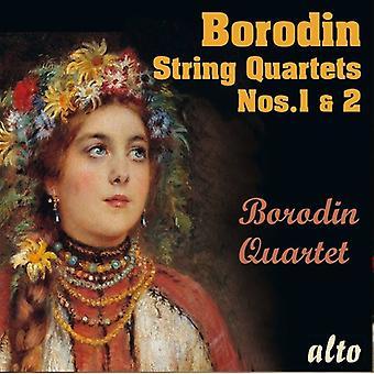 Alexander Borodin Jousikvartetit Nos.1 & No.2 [CD] USA tuonti