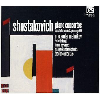D. Shostakovich - Shostakovich: Piano Concertos; Violin Sonata, Op. 134 [CD] USA import
