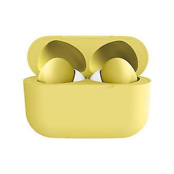 i13 Fones de ouvido sem fio Macaron - Amarelo