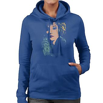 TV tijden zangeres en Model Sandy Shaw vrouwen de Hooded Sweatshirt