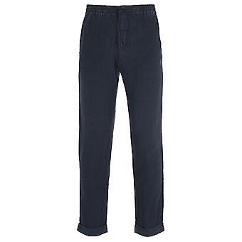 NN07 1235 Seb Navy Drawstring Trousers